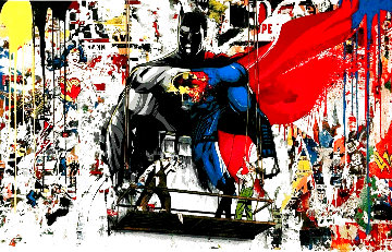 Batman vs. Superman 2016 Limited Edition Print - Mr. Brainwash