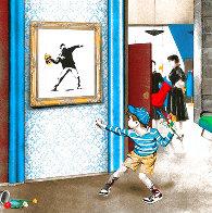 Life Imitates Art 2021 Limited Edition Print by Mr. Brainwash - 0