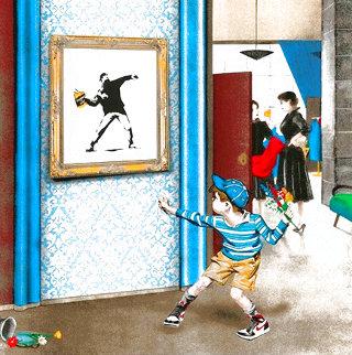 Life Imitates Art 2021 Limited Edition Print - Mr. Brainwash