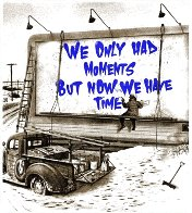 Now is the Time (Blue) 2020 Limited Edition Print by Mr. Brainwash - 1