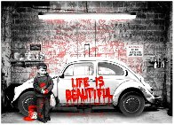 New Paint Job (Red) 2020 Limited Edition Print by Mr. Brainwash - 1