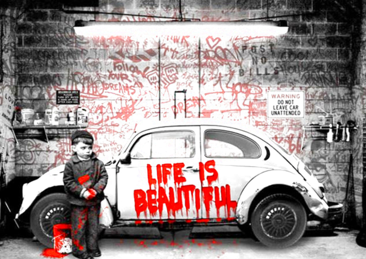New Paint Job (Red) 2020 Limited Edition Print by Mr. Brainwash