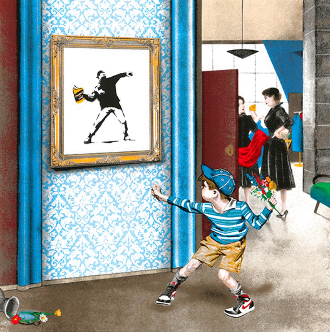 Life Imitates Art 2020 Limited Edition Print by Mr. Brainwash