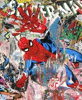 Spider-Man Unique 2019 50x38  Huge Works on Paper (not prints) by Mr. Brainwash - 2
