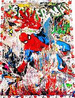 Spider-Man Unique 2019 50x38  Huge Works on Paper (not prints) by Mr. Brainwash - 0