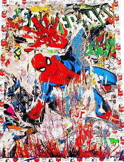 Spider-Man Unique 2019 50x38  Huge Works on Paper (not prints) - Mr. Brainwash