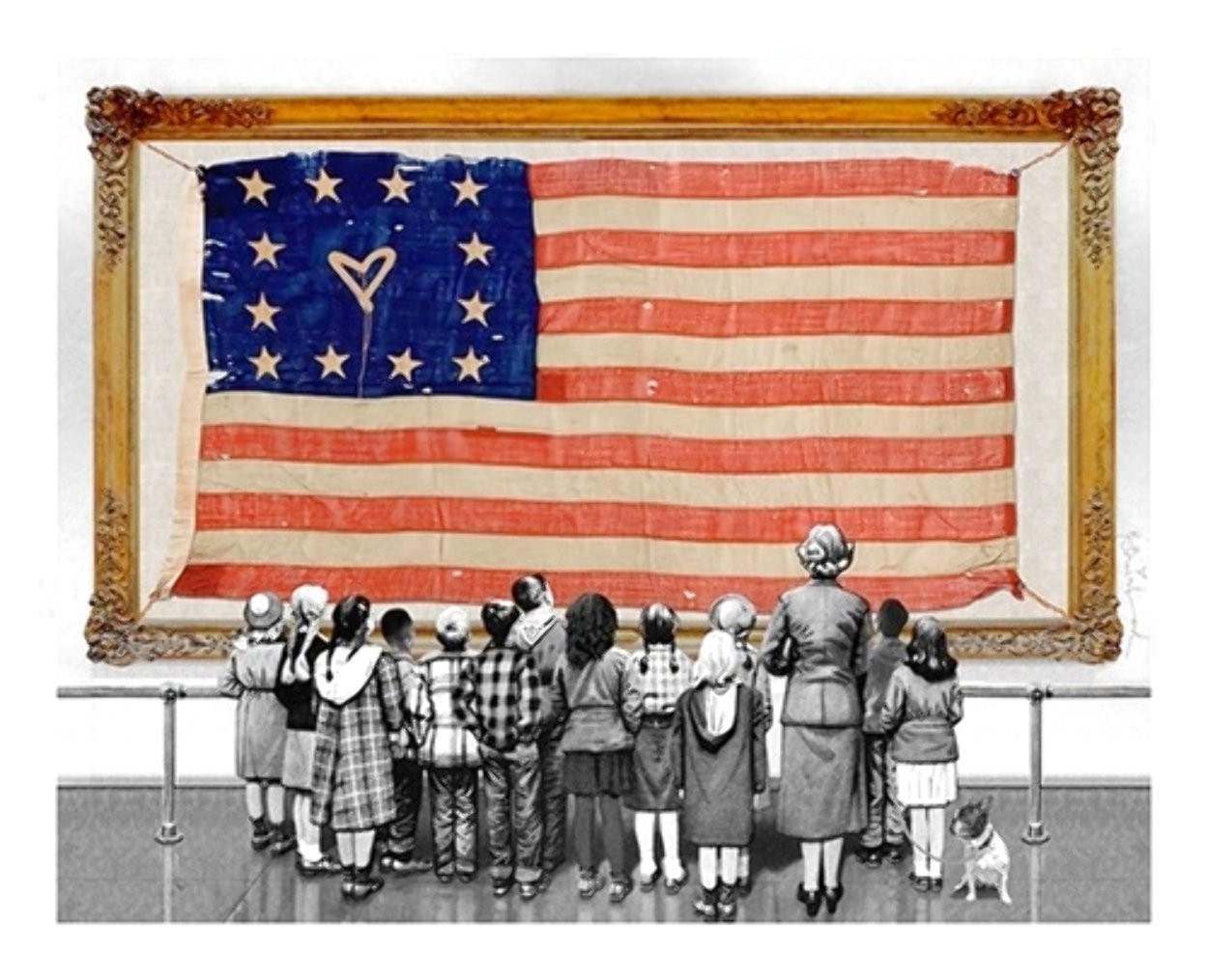 Old Glory Limited Edition Print by Mr. Brainwash