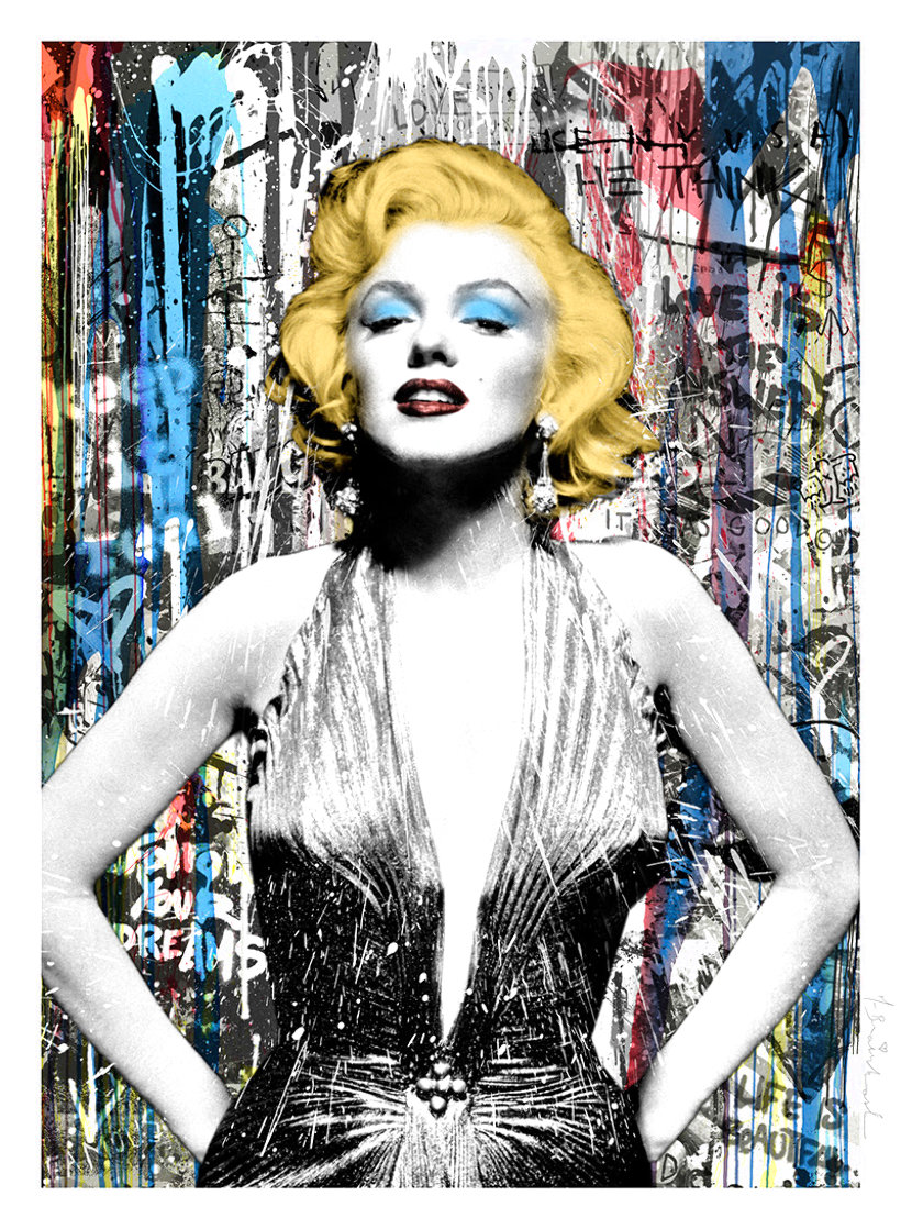 Marilyn For Ever 2021 Limited Edition Print by Mr. Brainwash