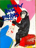 Everyday Life Unique 2020 30x22 Works on Paper (not prints) by Mr. Brainwash - 1