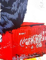 Everyday Life Unique 2020 30x22 Works on Paper (not prints) by Mr. Brainwash - 4