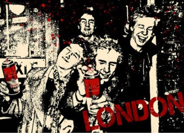 Anarchy in the UK 2009 Limited Edition Print by Mr. Brainwash