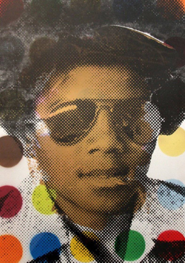 Michael Jackson 2009 Works on Paper (not prints) by Mr. Brainwash