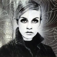 Twiggy 2009 Works on Paper (not prints) by Mr. Brainwash - 0