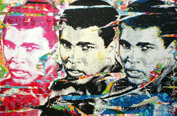 Ali (the Champ) 2010 Limited Edition Print - Mr. Brainwash