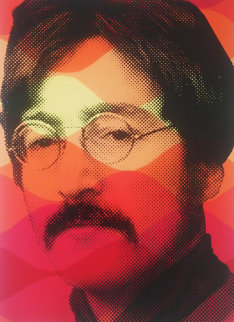 Vintage Lennon 2009 Limited Edition Print - Mr. Brainwash