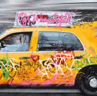 Going to New York 2014 Limited Edition Print by Mr. Brainwash - 2