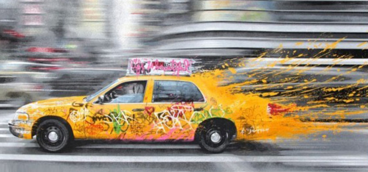 Going to New York 2014 Limited Edition Print by Mr. Brainwash
