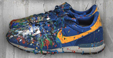 Nike Internationalist Blue Unique 2014 Other by Mr. Brainwash