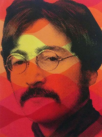 John Lennon 2009 (Beatles) Limited Edition Print by Mr. Brainwash