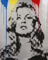 Cover Girl - Kate Moss 2010 Unique 45x34 Huge Limited Edition Print by Mr. Brainwash - 0