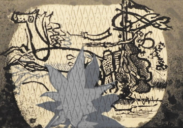 Varnished Chariot, The Chariot III 1955 Limited Edition Print - Georges Braque