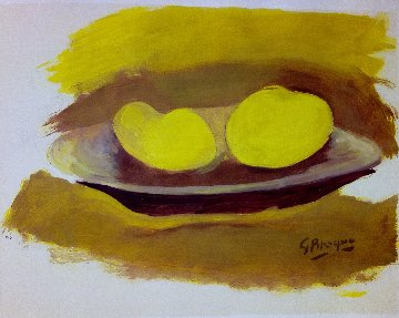 Les Pommes 1974 Limited Edition Print by Georges Braque