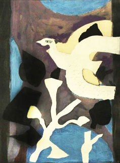 Denners Messages 1957 HS Limited Edition Print - Georges Braque