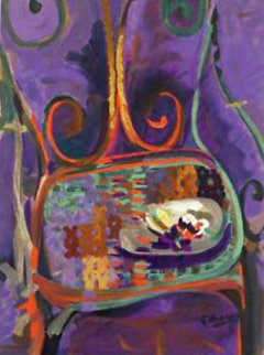 La Chaise 1962 Limited Edition Print - Georges Braque