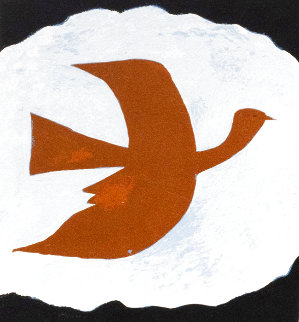 Oiseau Bistre 1961 Limited Edition Print - Georges Braque