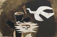 l'Oiseau Et Son Nid 1956 HS Limited Edition Print by Georges Braque - 0