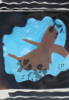 Migration (Two Birds) 1962 HS Limited Edition Print - Georges Braque