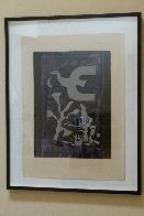 Le Vitrail 1962 Limited Edition Print by Georges Braque - 2