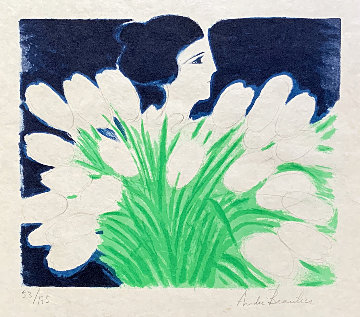 Bouquet De Printemps 1974 Limited Edition Print - Andre Brasilier