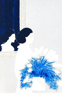 Les Deux Profils 1978 Limited Edition Print - Andre Brasilier