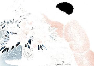 Symphonie En Rose 1979 Limited Edition Print - Andre Brasilier