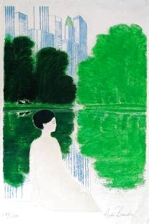 Central Park, New York 1983 Limited Edition Print - Andre Brasilier