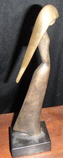 Jasmin Bronze Sculpture 1983 9 in Sculpture by Paul Braslow