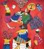 Diego Rivera, El Elefante 2020 43x39 Original Painting by Clemens Briels - 0
