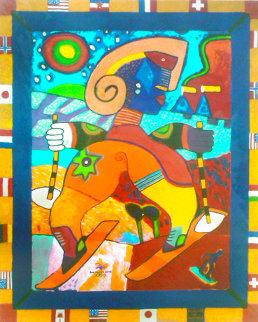 Fragrance of Park City 2001 45x37 Super Huge Limited Edition Print - Clemens Briels