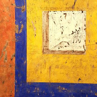 Les Somnambules 50x50 Original Painting - Pierre Marie Brisson