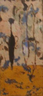 Essaie Primitif I 1997 38x24 Original Painting - Pierre Marie Brisson