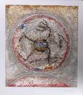 Abstract Figure 1984 Limited Edition Print by Pierre Marie Brisson - 1