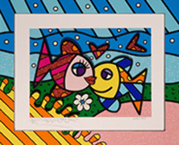 Happy Days  Limited Edition Print - Romero Britto