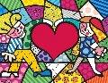 Big Heart 2015 Limited Edition Print - Romero Britto