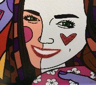 True Love (Yellow) (Will and Kate) 2011 Limited Edition Print by Romero Britto - 5