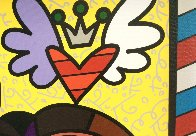 True Love (Yellow) (Will and Kate) 2011 Limited Edition Print by Romero Britto - 4