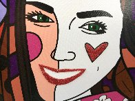 True Love (Yellow) (Will and Kate) 2011 Limited Edition Print by Romero Britto - 7