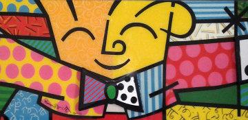 Hug 1993 Limited Edition Print - Romero Britto