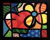 Thank You / A Flor Da Maasa 2004 Limited Edition Print by Romero Britto - 1