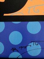 Thank You / A Flor Da Maasa 2004 Limited Edition Print by Romero Britto - 2